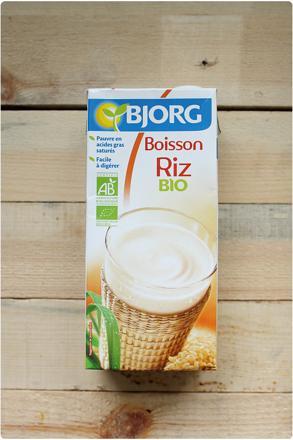prix lait de riz