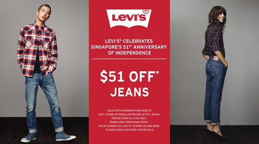promo jeans levis