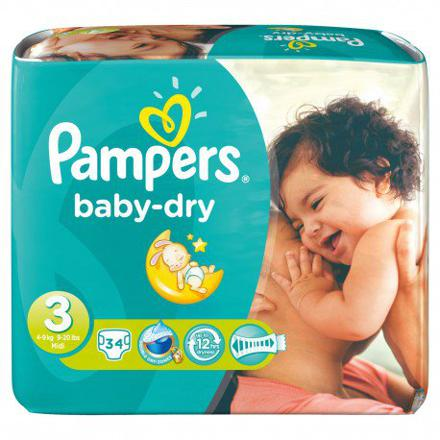 promo pampers taille 3