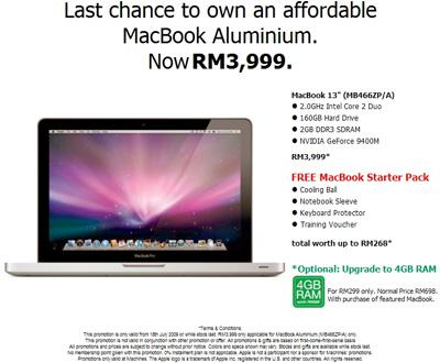 promotion macbook