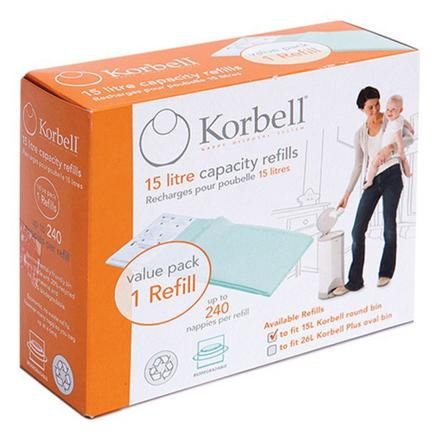 recharge poubelle korbell