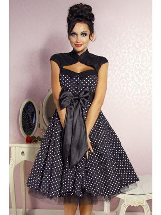 robe pin up retro