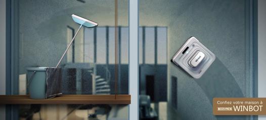 robot pour nettoyer les vitres