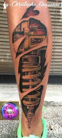 tatouage amortisseur