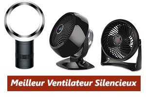 ventilateur sans bruit