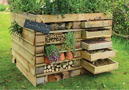 abris pour insectes du jardin