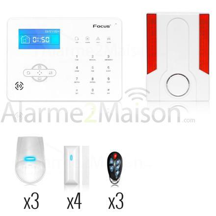 alarme maison gsm sans abonnement