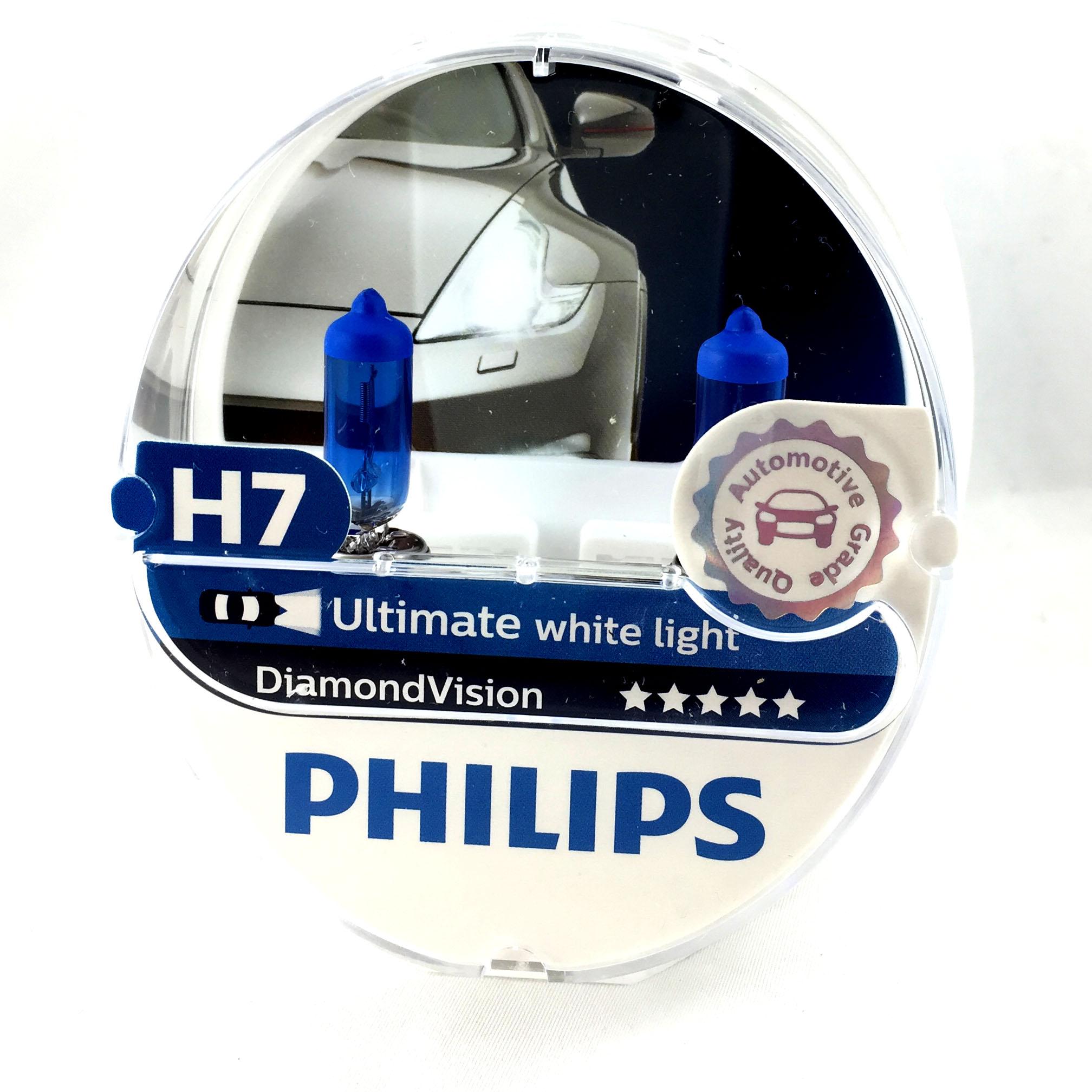 ampoule h7 philips diamond vision