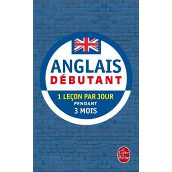 anglais débutant livre de poche