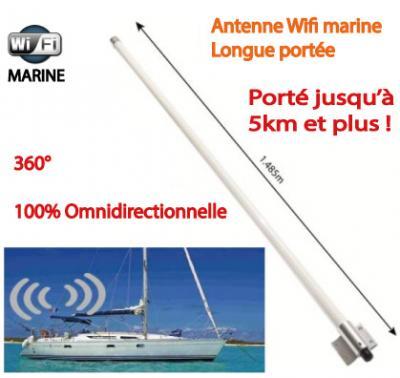 antenne wifi omnidirectionnelle longue portée