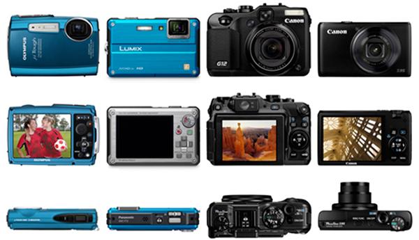 appareil photo numérique comparatif