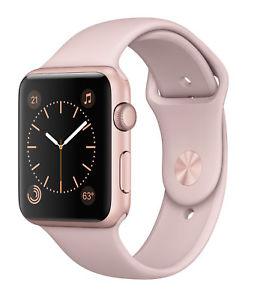 apple watch serie 2 rose
