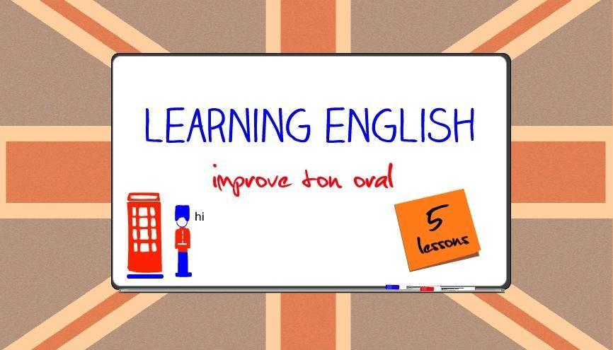 apprendre l anglais oral