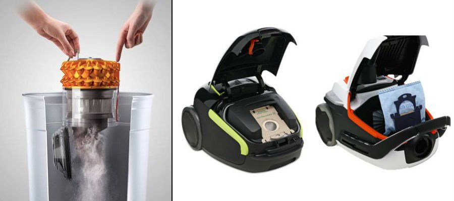 aspirateur avec ou sans sac