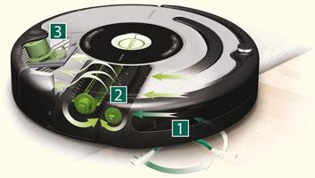 aspirateur robot fonctionnement