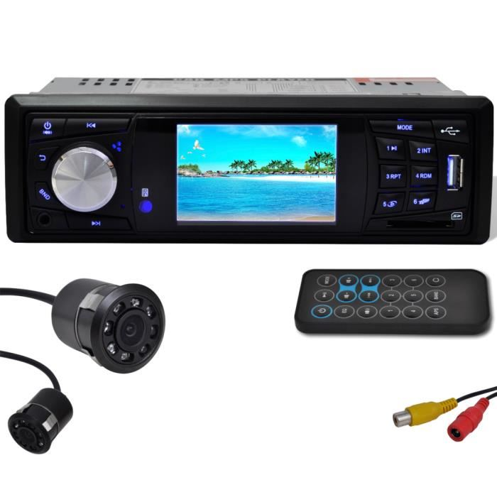 autoradio camera de recul bluetooth