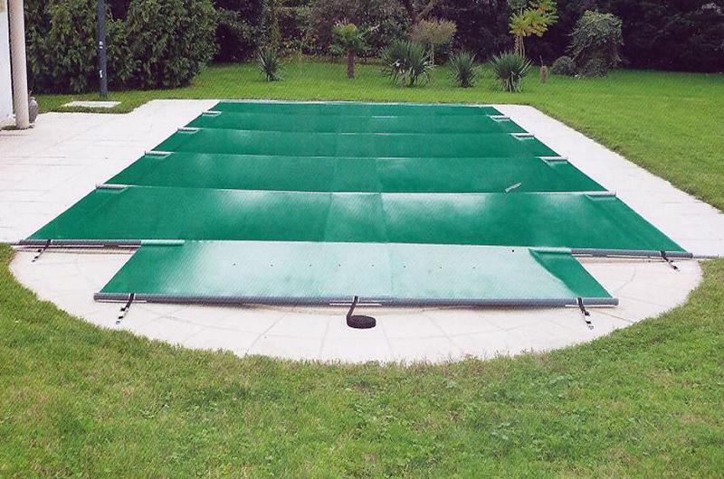 bache a barre piscine pas cher
