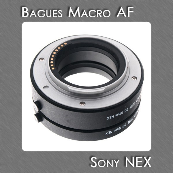 bague allonge sony nex