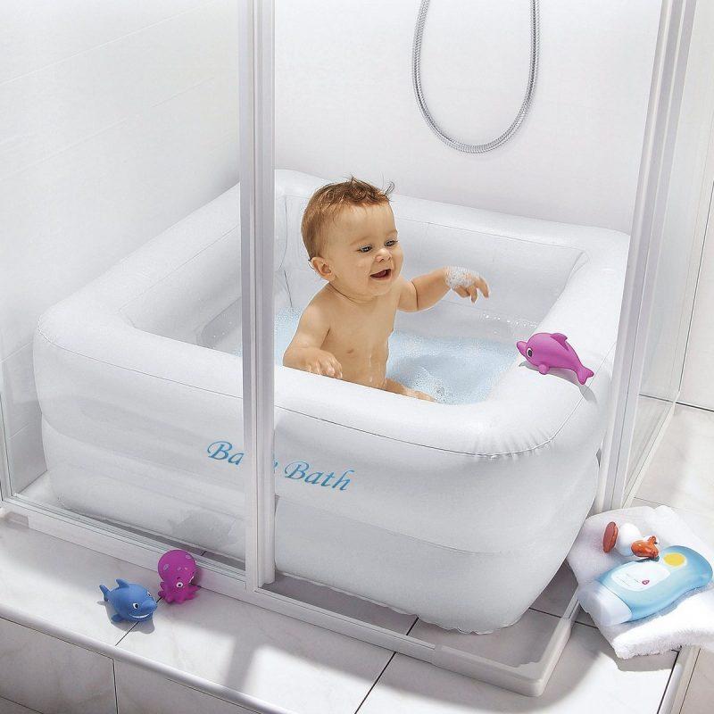 baignoire bébé douche