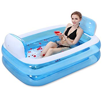 baignoire gonflable pour adulte
