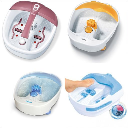 bain de pied appareil massage
