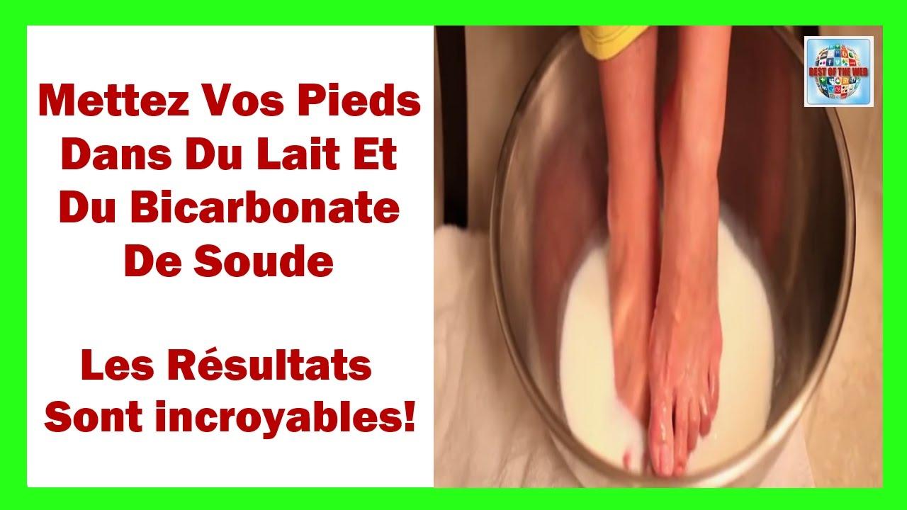bain de pied bicarbonate