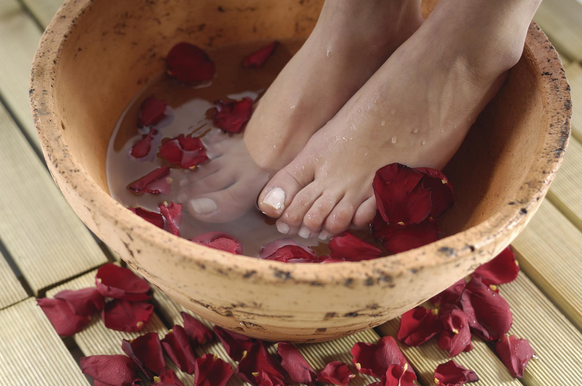 bain de pied maison
