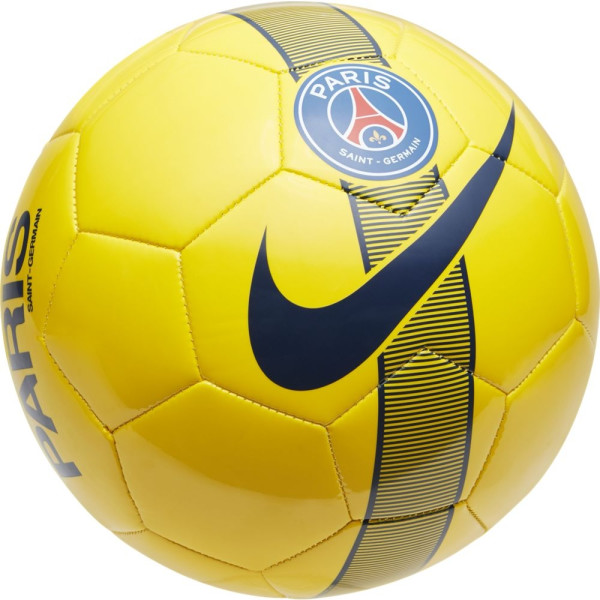 ballon de foot jaune
