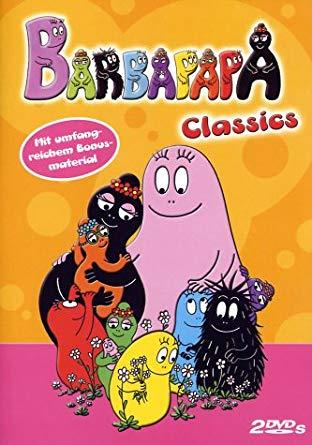 barbapapa dvd