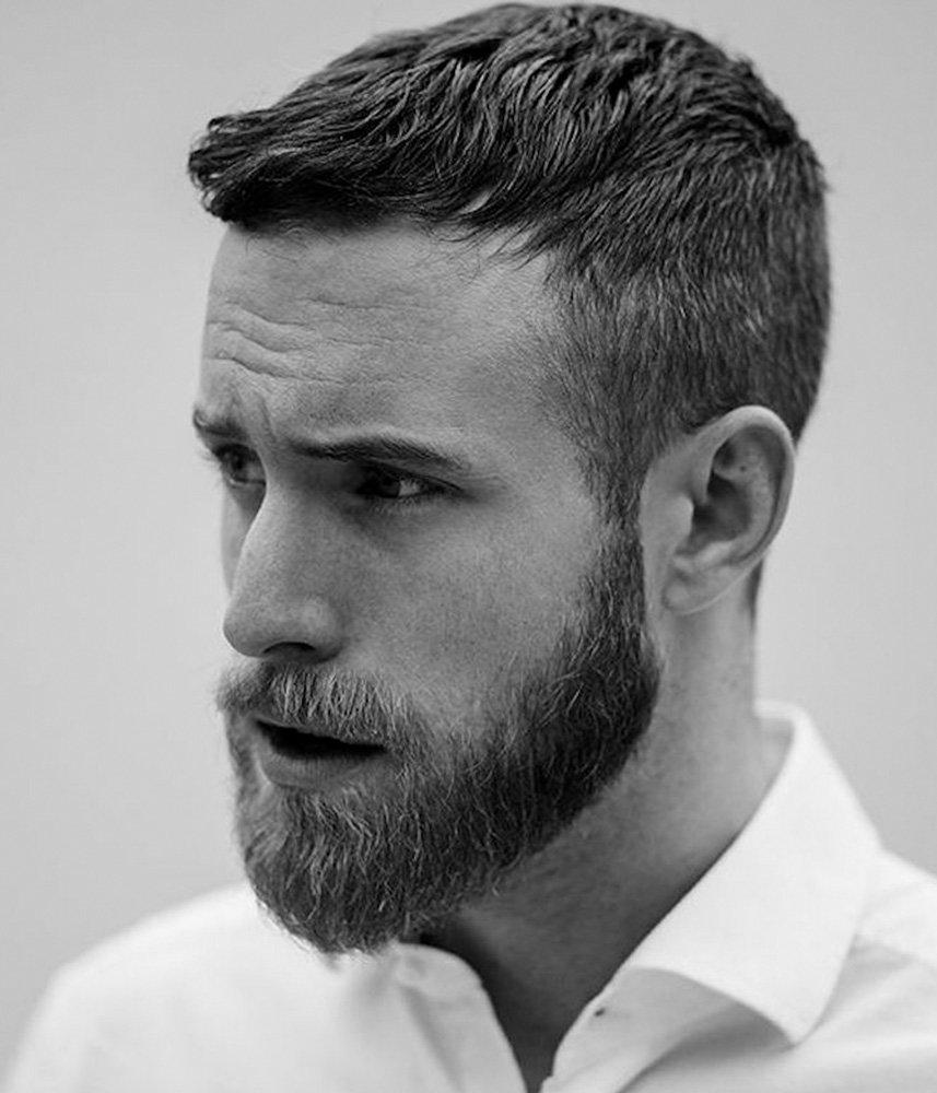 barbe mi longue