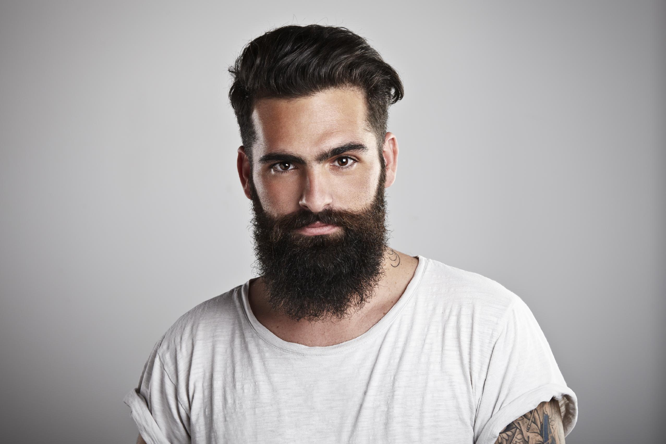 barbe visage