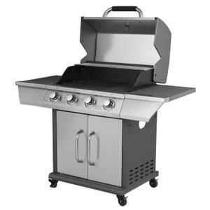 barbecue à gaz plancha