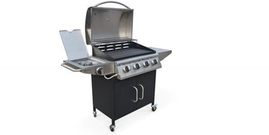 barbecue gaz avec bruleur lateral