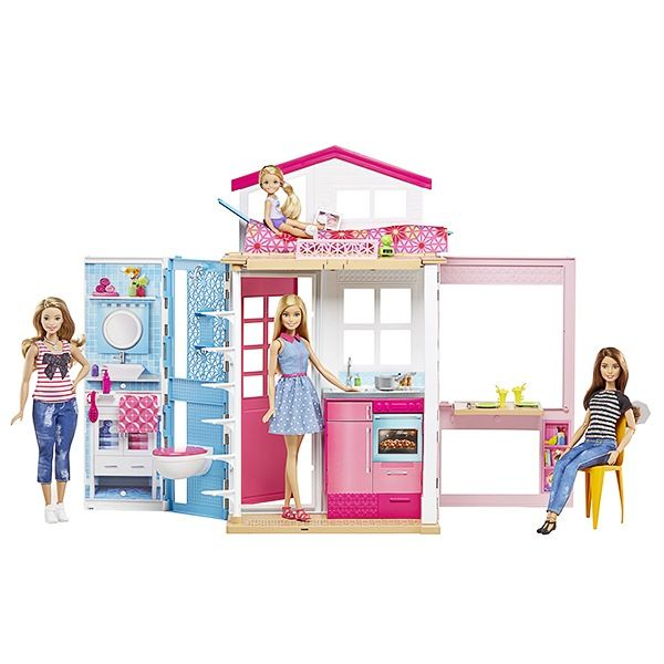 barbie et sa maison