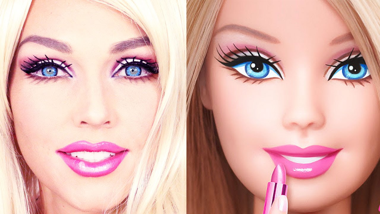 barbie maquillage
