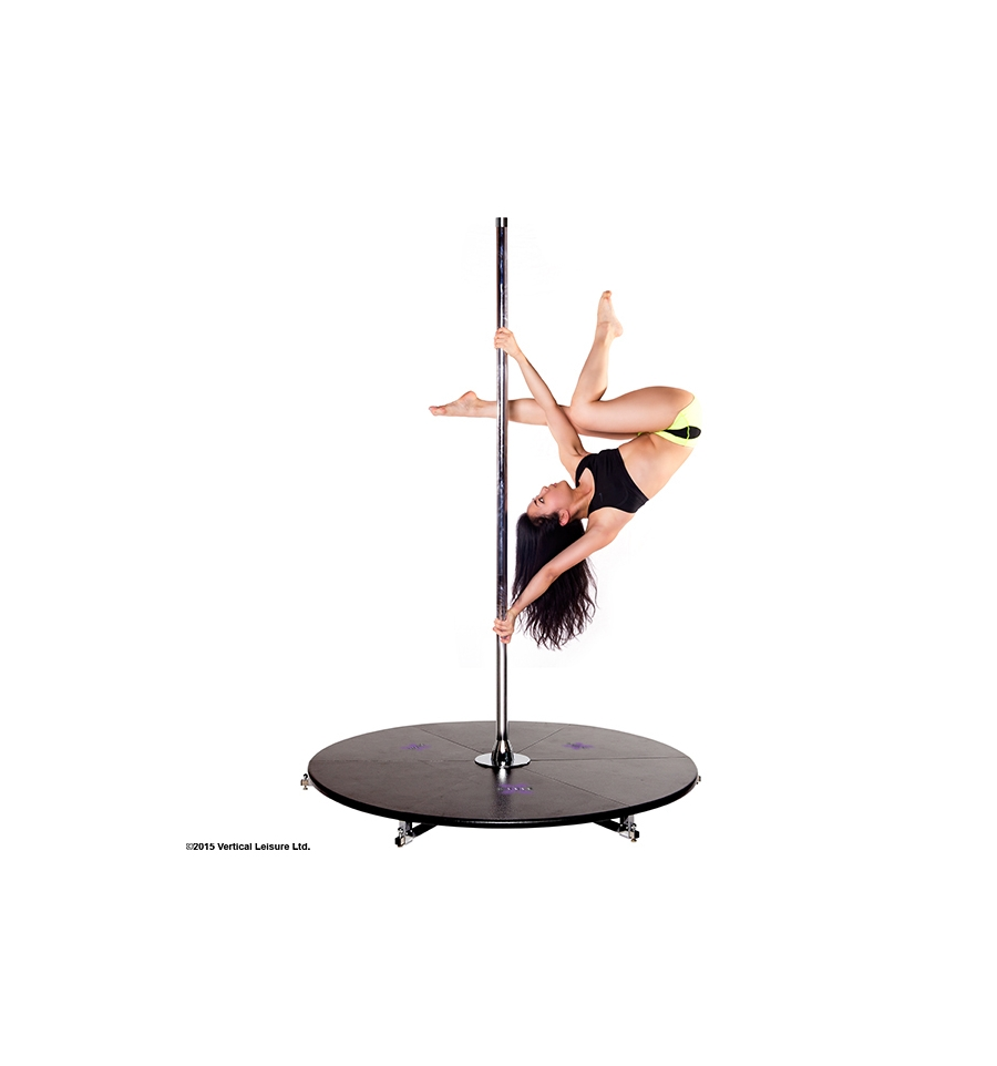 barre de pole dance sans fixation plafond