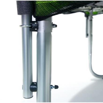 barre filet trampoline