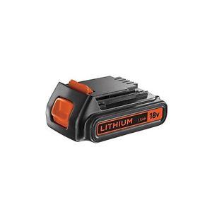 batterie black et decker 18v lithium