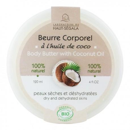 beurre de coco pour la peau
