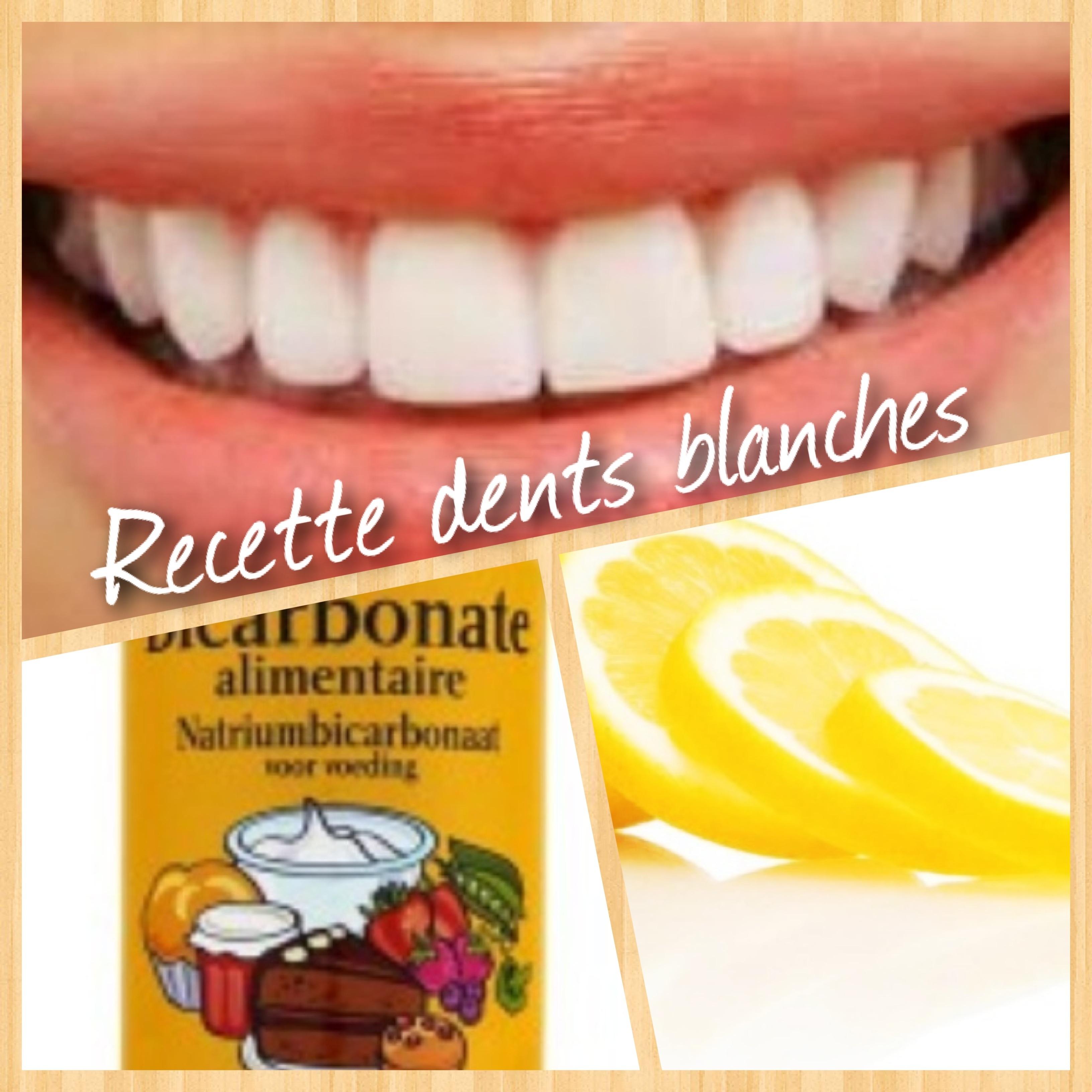 bicarbonate de soude alimentaire pour les dents