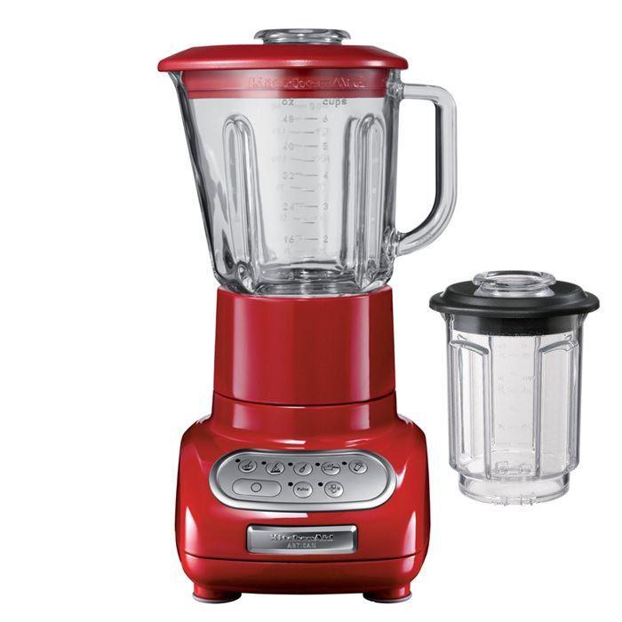 blender kitchenaid rouge