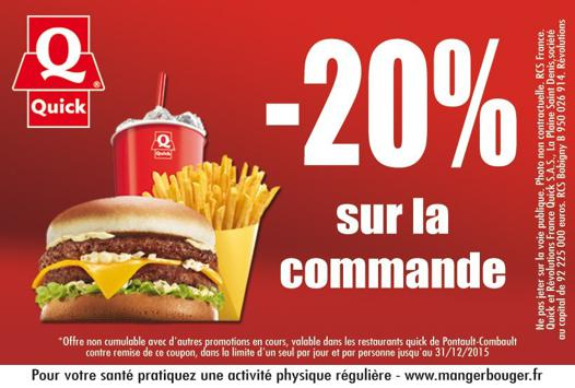 bon de reduction quick