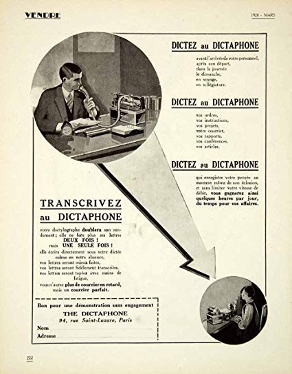 bon dictaphone