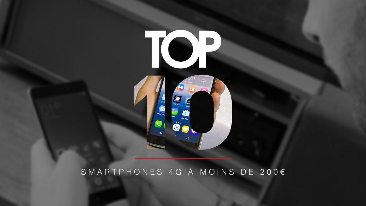 bon smartphone moins de 200 euros