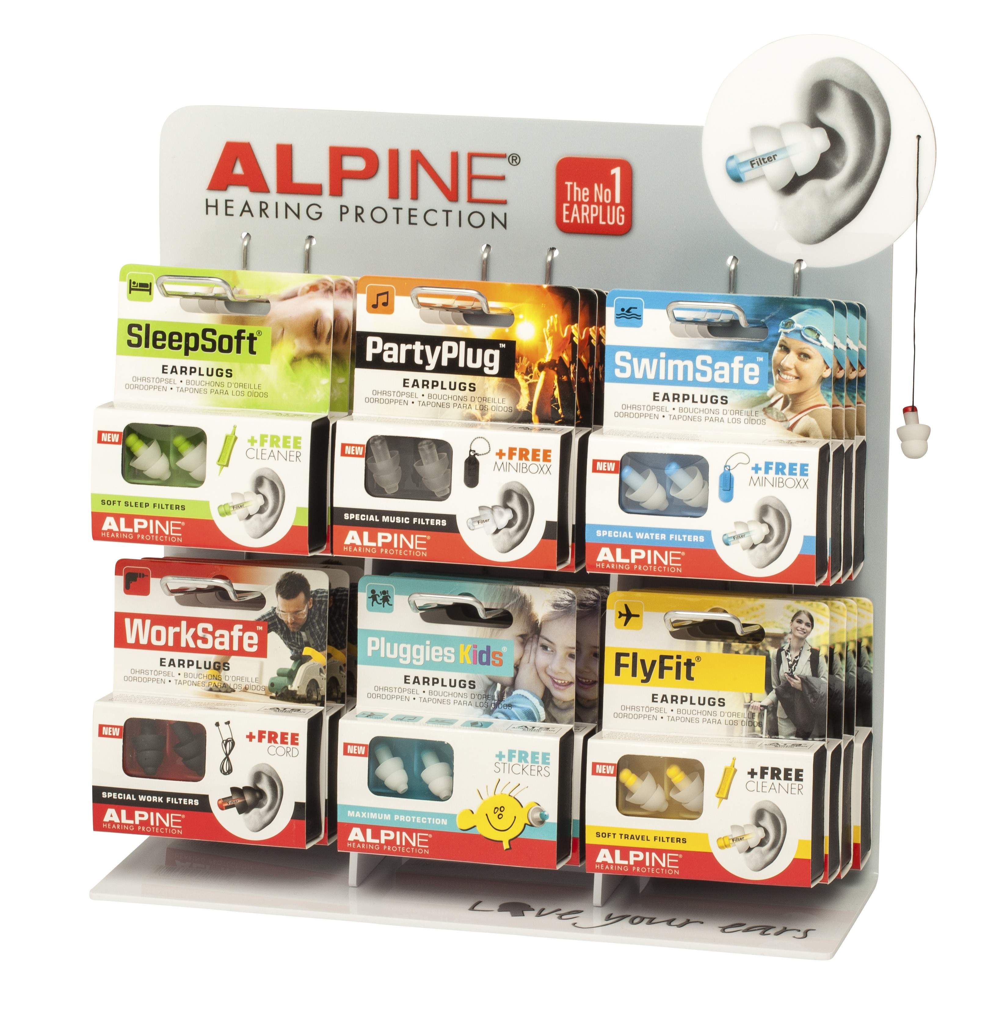 bouchon d oreille alpine