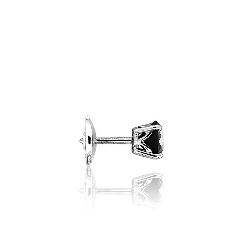 boucle d'oreille diamant noir homme