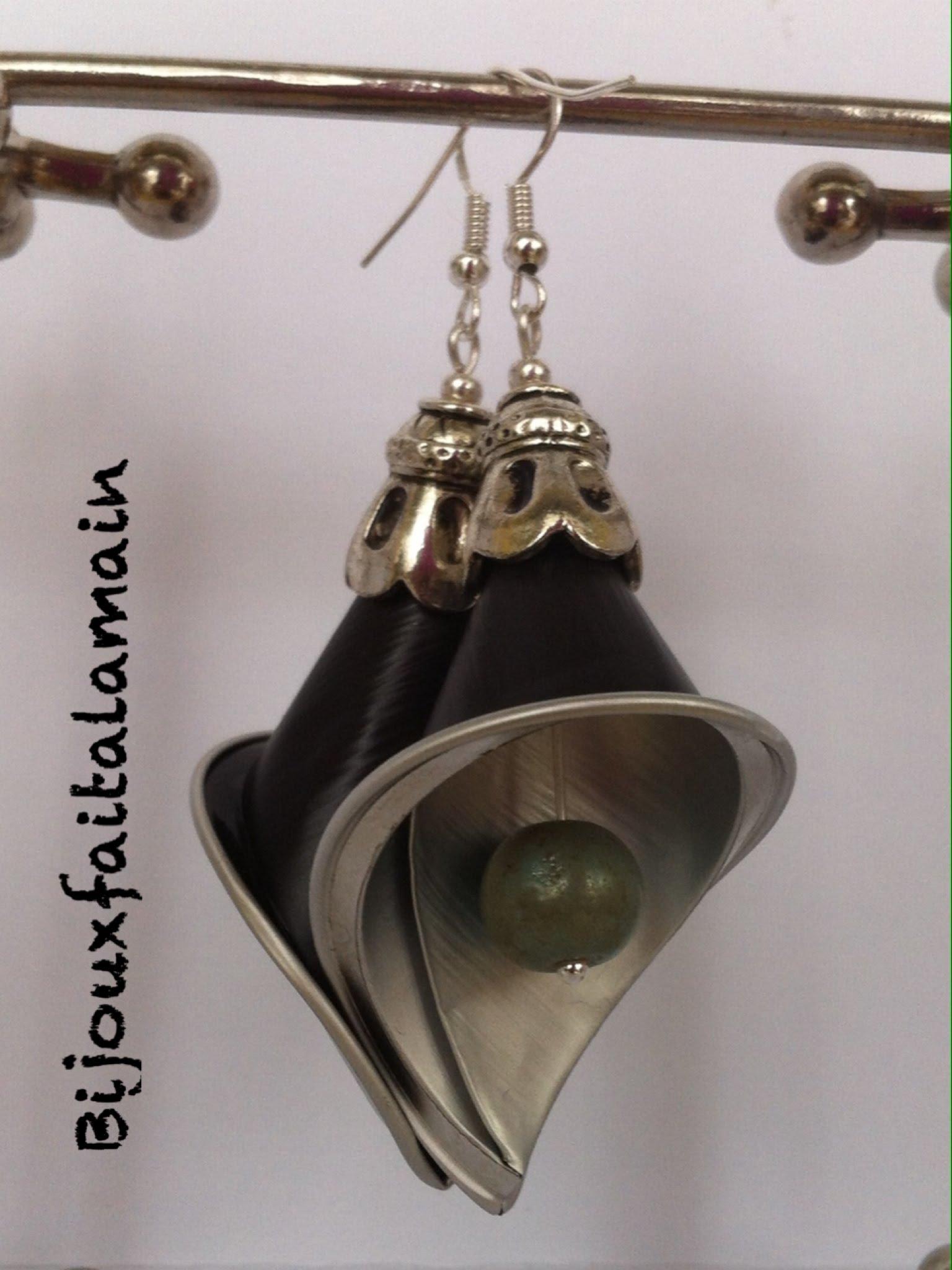 boucle oreille capsule nespresso