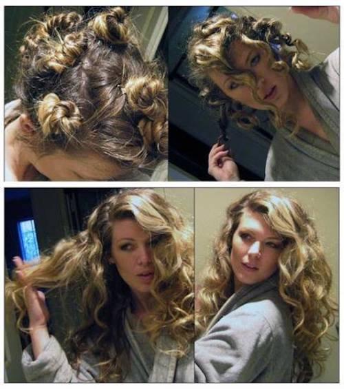 boucler les cheveux naturellement