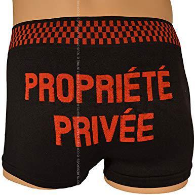 boxer propriété privée homme