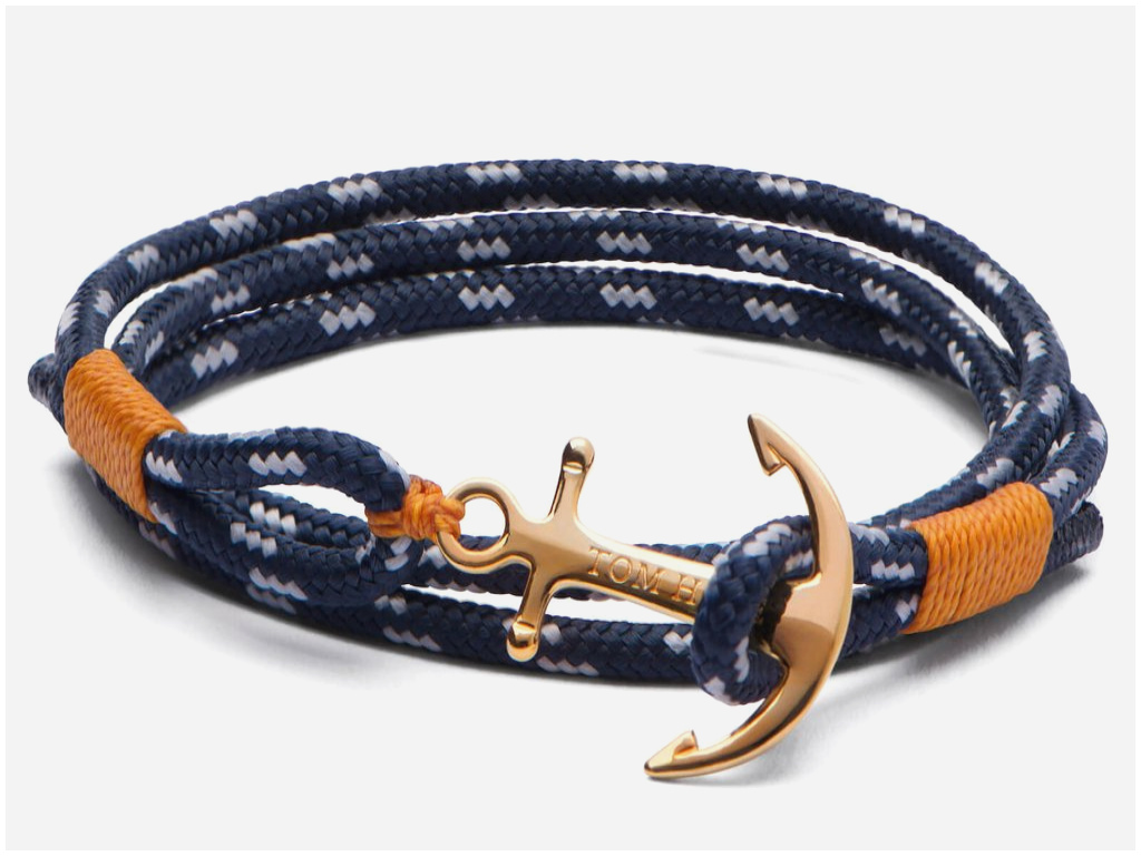bracelet ancre homme tom hope